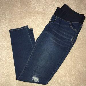 EUC Skinny Maternity Jeans